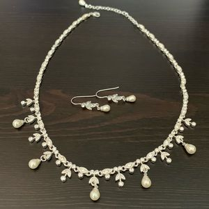 Jewelry - Pearl Necklace and Matching Earring Set